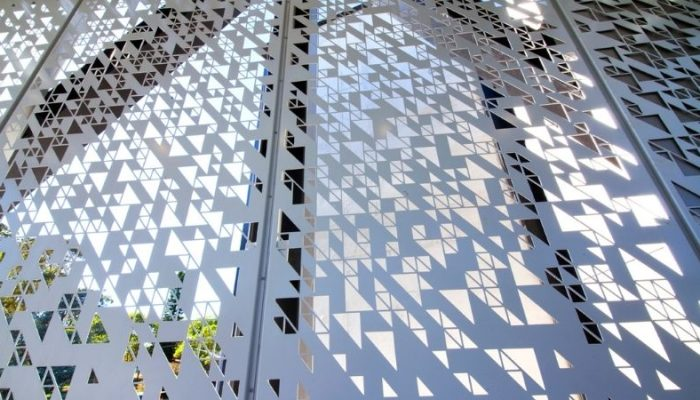 Perforated sheet ideas for metal projects