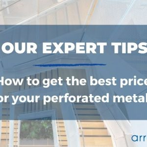 How to get the best perforated metal price